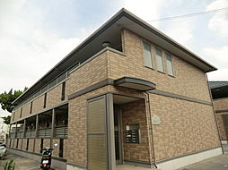 ルピナスB棟[2階]の外観