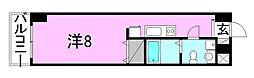 カローラ東雲[807 号室号室]の間取り