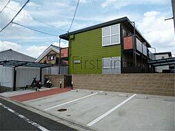 京都府京都市伏見区東堺町の賃貸アパートの外観