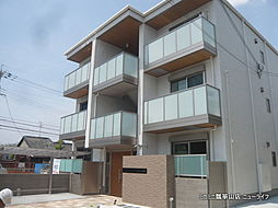 大阪府東大阪市吉田2丁目の賃貸アパートの外観