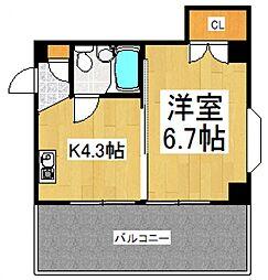 セレガ朝霞[4階]の間取り