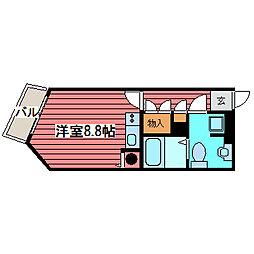 RX Nangou[4階]の間取り