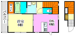 [テラスハウス] 千葉県船橋市前原西4丁目 の賃貸【/】の間取り