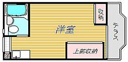 第8スターコーポ[1階]の間取り