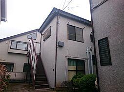 東京都文京区白山4丁目の賃貸アパートの外観