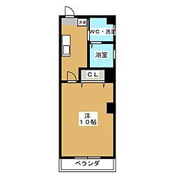 SUZUKI BLD.[3階]の間取り