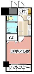 ルネッサンスTOEI田町[5階]の間取り