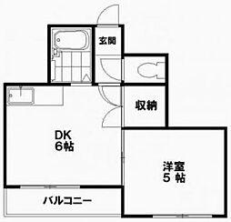 セゾンコート21[1階]の間取り