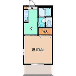 セフィラ Y・K B棟[101号室]の間取り