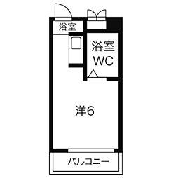 グリーンアメニティ新栄[5階]の間取り