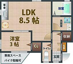 落合駅 9.1万円