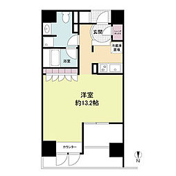 プライムアーバン堺筋本町[14階]の間取り