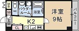 K-FLAT[303号室号室]の間取り