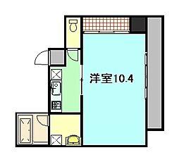 クレール[3階]の間取り
