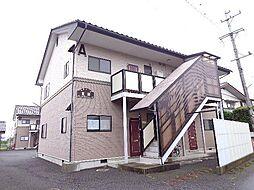 長野県長野市大字北堀の賃貸アパートの外観