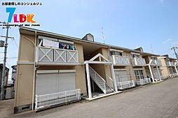 奈良県桜井市大字粟殿の賃貸アパートの外観