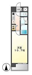 ビ・アバンス[6階]の間取り
