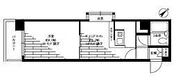 ナイスアーバン横濱駅東館[9階]の間取り