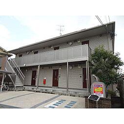 奈良県生駒郡安堵町笠目の賃貸アパートの外観
