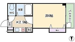 スタジオM[2階]の間取り