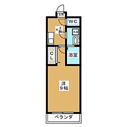 ファーストコート五条若宮[2階]の間取り