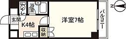 フルールナカガワIII[2階]の間取り
