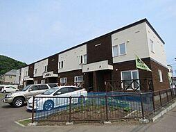 [テラスハウス] 北海道札幌市西区福井8丁目 の賃貸【/】の外観