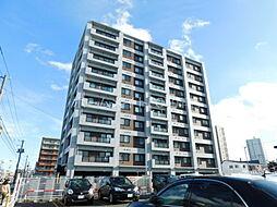 北海道札幌市豊平区平岸五条8丁目の賃貸マンションの外観