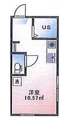 (仮称)ルームズ西早稲田A棟[101号室]の間取り