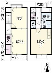 DUPLEX伊藤 A棟の間取り