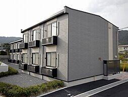 広島県安芸郡熊野町城之堀1丁目の賃貸アパートの外観