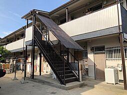 大阪府高槻市富田町5丁目の賃貸アパートの外観