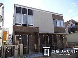 愛知県豊田市水源町1丁目の賃貸アパートの外観