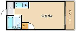 ブルーローズハウス[2階]の間取り