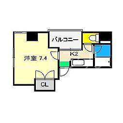 みつわビルII[5階]の間取り