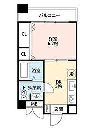 新深江池田マンション[8階]の間取り