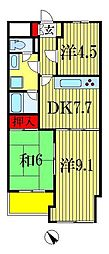INSURANCE BLDG 14[5階]の間取り
