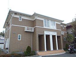 グローリアB棟[2階]の外観