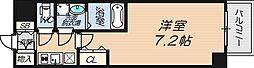 S-RESIDENCE新大阪WEST[8階]の間取り