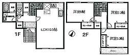 [テラスハウス] 東京都町田市真光寺1丁目 の賃貸【/】の間取り