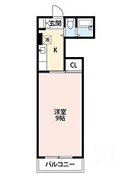 東海マンション[4階]の間取り