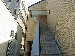 愛知県名古屋市熱田区比々野町の賃貸アパートの外観