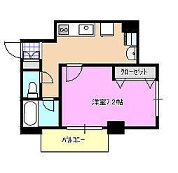 アニーモ湘南 403[4階]の間取り