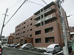 長野県松本市本庄1丁目の賃貸マンションの外観