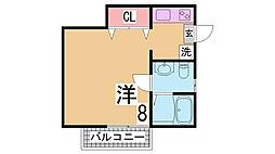 月見山駅 4.5万円