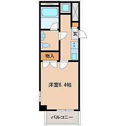 アンシャンテ・カーロ[3階]の間取り