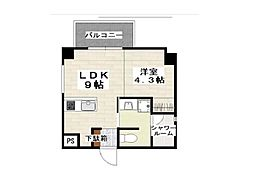 (仮)小禄112番 新築 6階1LDKの間取り