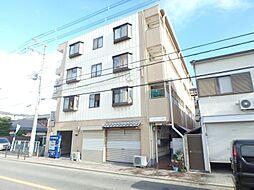 大阪府大阪市東住吉区鷹合3丁目の賃貸マンションの外観