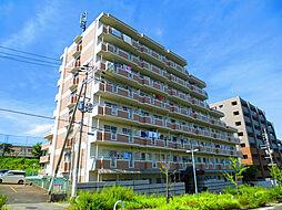 ヒュース一丘弐番館[5階]の外観