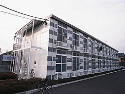 千葉県松戸市古ケ崎の賃貸アパートの外観